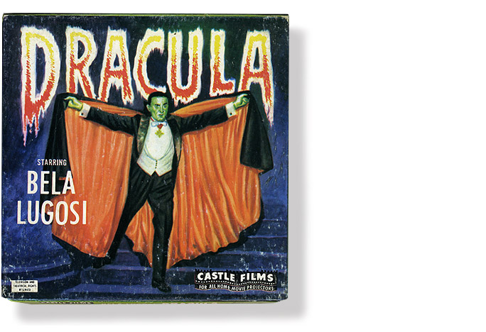 Vintage Universal Dracula 8mm Movie