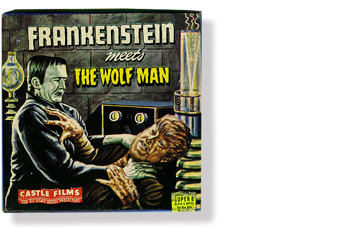 Vintage Universal Monster Frankenstein 8mm Movie