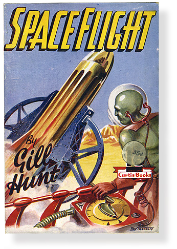 Vintage Space Pulp Fiction