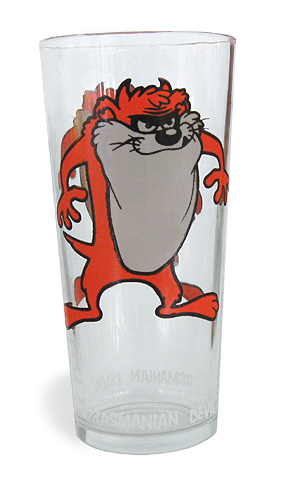 Vintage Tazmanian Devil Glass